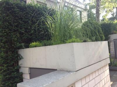 Schöne Vorgärten Pflanzgefäße